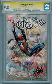 Amazing Spider-man #692 Fan Expo CGC 9.8 Signature Series Signed Stan Lee Scott Campbell Marvel